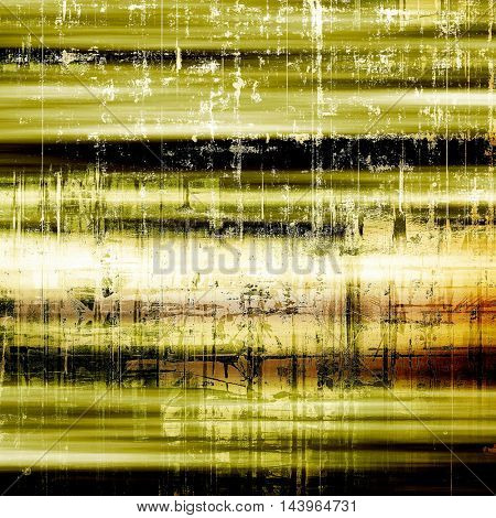 Abstract grunge background or aged texture. Old school backdrop with vintage feeling and different color patterns: gray; green; yellow (beige); brown; white; black