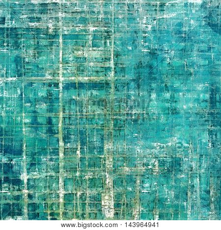 Decorative vintage texture or creative grunge background with different color patterns: gray; green; blue; white; cyan