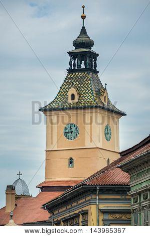 Council House in Brasov city in Romania