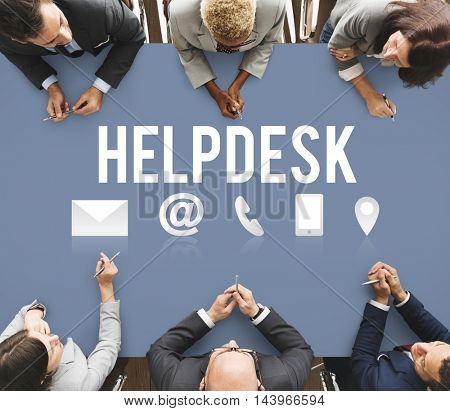 Helpdesk Support Information Support Concept