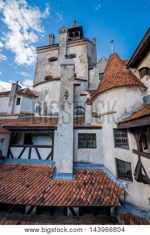 Bran Castle known as Dracula's Castle near Bran in Romania