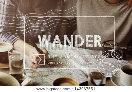 Travel Holiday Wanderlust Trip Concept