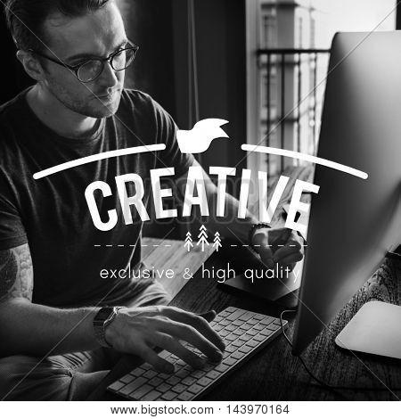 Creative Design Ideas Imagination Inspiration Concept