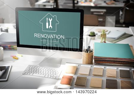 Construction Design Project Renovation Concept