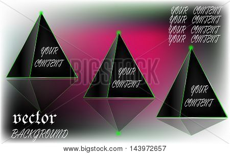 vector picture used to advertise, your content.