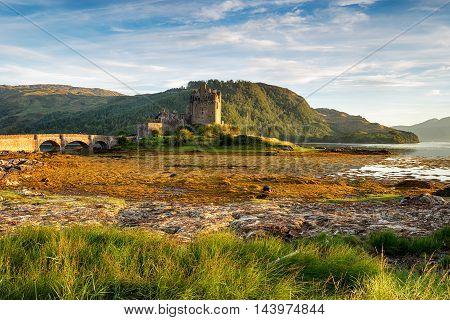 Eilean Donan Casltle On Loch Aish