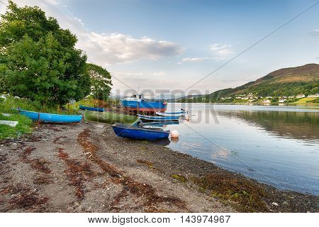 Fishing Boats At Portree