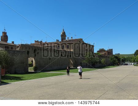 Buonconvento City Walls