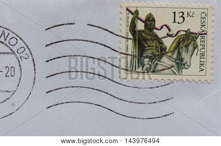 Stamp Of Czech Republic