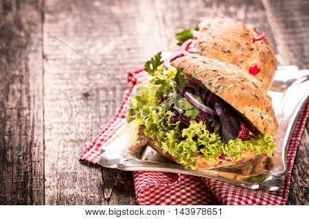 Veggie Beet And Quinoa Burger,healthy Food,vintage Filter