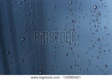 patterntexture : rain drop on window glass in rainy day