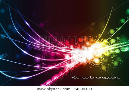 Abstract Modern Light Background Original Illustration