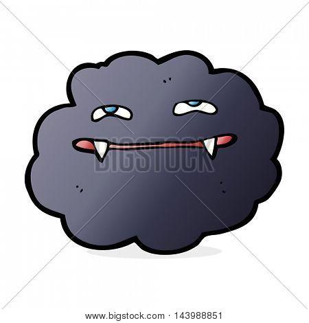 cartoon vampire cloud