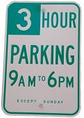 Three Hour Parking