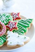 pic of christmas party  - Christmas cookies - JPG