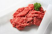 image of ground-beef  - Lean fresh ground beef - JPG
