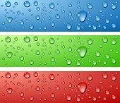 foto of colorful banner  - Color Wet surfaces - JPG