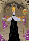picture of hade  - Hades / Pluto, lord of the Underworld, welcomes you to his estates. 