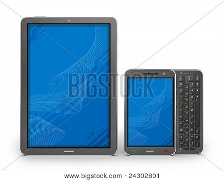 Tablet PC y smartphone