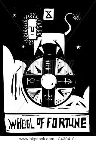 Tarot Card of the Wheel