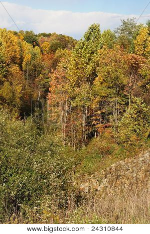 Autumn West Virginia Valley