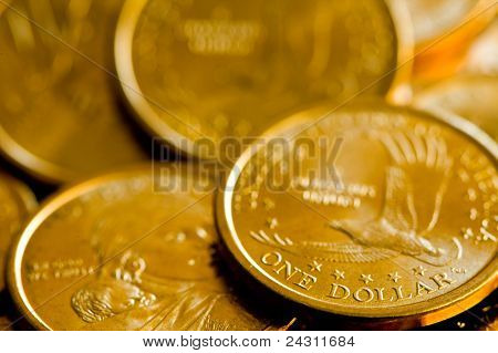 One Dollar United States Of America Gold Coins