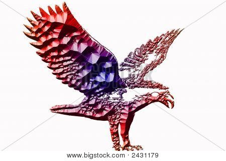 Statue Eagle Illustration