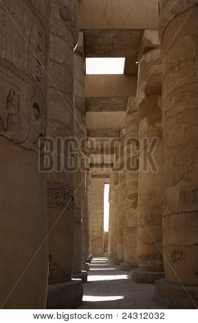 Around Precinct Of Amun-re In Egypt