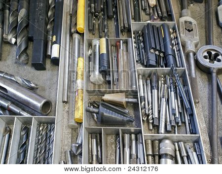 Drawer And Tools