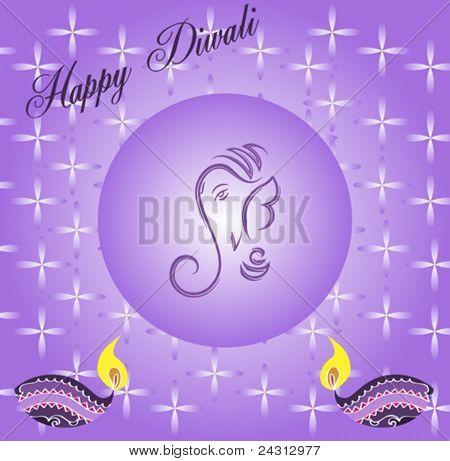 Ganpati Diwali Greeting