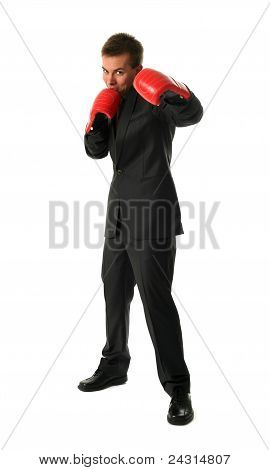 Boxing Businessmen