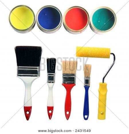 Paint Colors And Tools