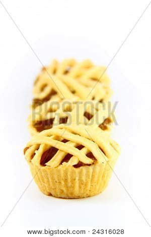 Close - Up Of Pineapple Pie