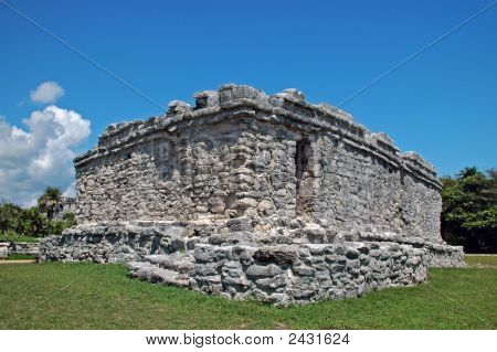 Ancient Mayan Public Building