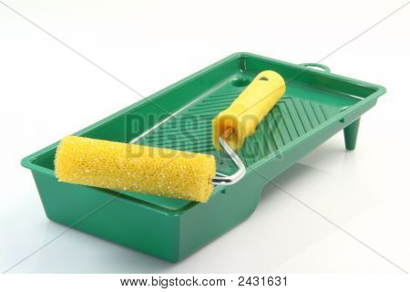 Paint Roller And Pan