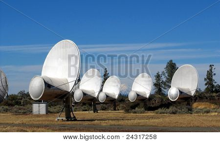 Hat Creek Allen Telescope Array radio-telescope