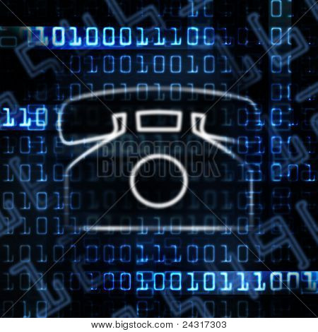 Ip Phone And Binary Code