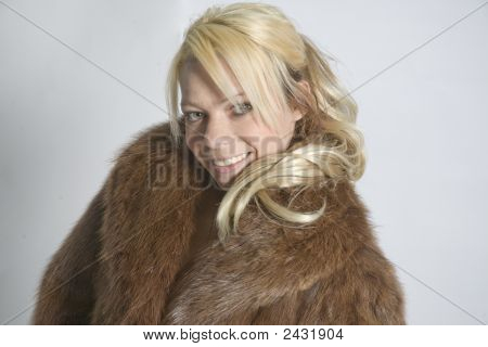 Fur Coated Model