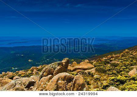 View To The South: Tasmania