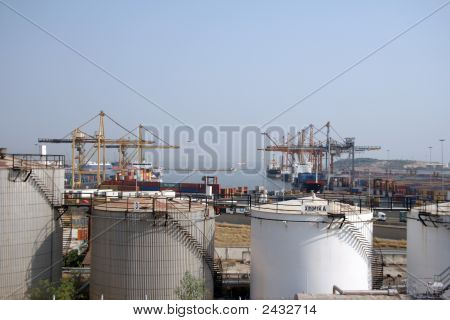 Chemical Plant And Port