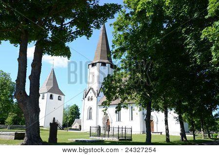 Lärbro church in Gotland
