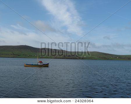 Boat on Dingle Bay