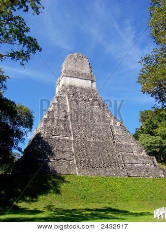 Temple I Of Tikal