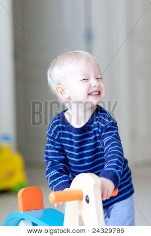 Playing Toddler