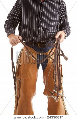 Cowboy Body With Reins