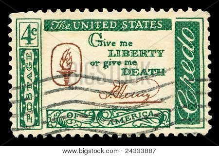 American Post Stamp