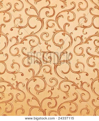 Thai Pattern Style On The Wall