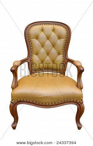 Brown Luxury Armchair