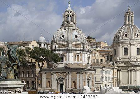 Piazza Venezia Detail