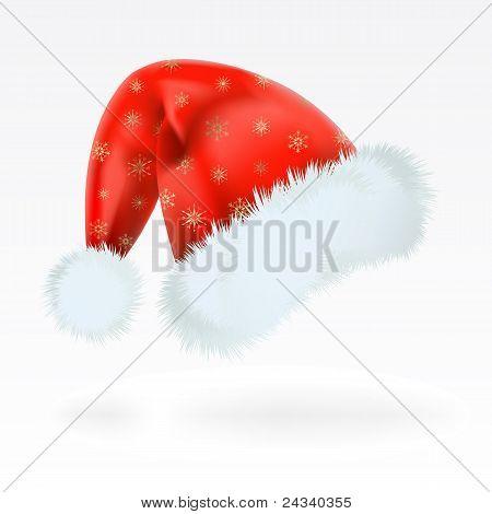 Santa Claus Cap. Mesh.